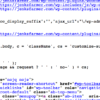 CLICK ON THIS GARBLED CODE TO SEE WHAT IT REPRESENTS ON THE OTHER SIDE OF THE WEB PAGE.